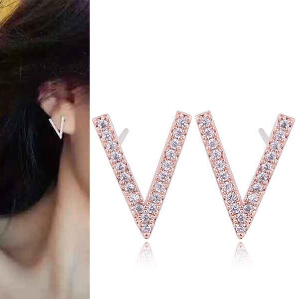 Copper Korea earring NHNSC14499