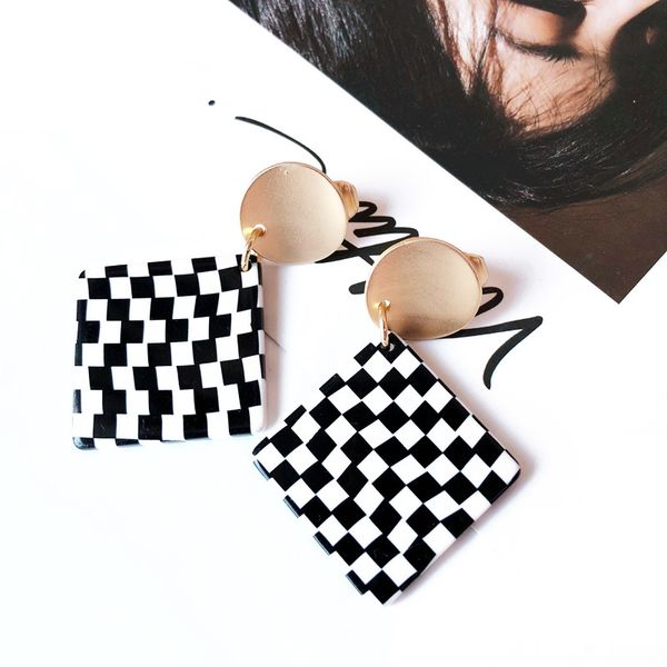 Alloy Fashion  earring  (Photo Color) NHOM1189-Photo-Color
