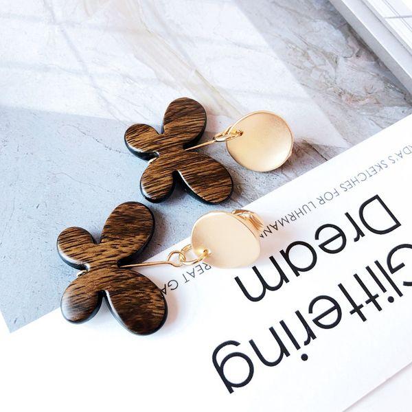 Alloy Fashion Flowers earring  (butterfly) NHOM1191-butterfly