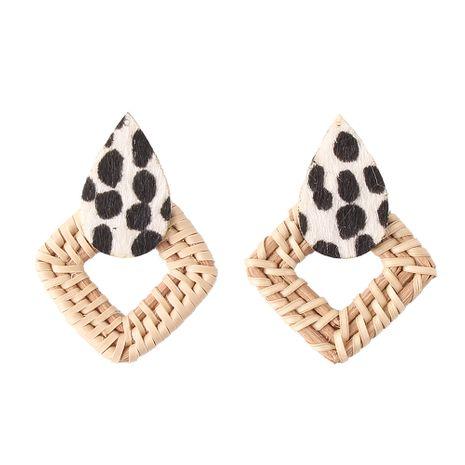 Alloy Fashion Geometric earring  (white) NHJQ11113-white's discount tags