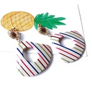 Alloy Fashion  earring  Style one NHOM1166Styleone