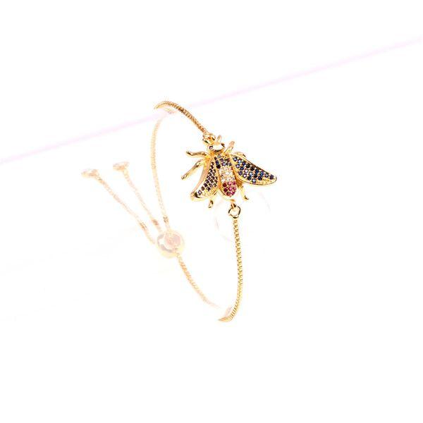 Zircon Fashion Animal bracelet  (Big bee) NHPY0422-Big-bee