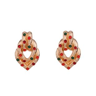 Alloy Simple Geometric earring  (Alloy) NHKC1351-Alloy's discount tags