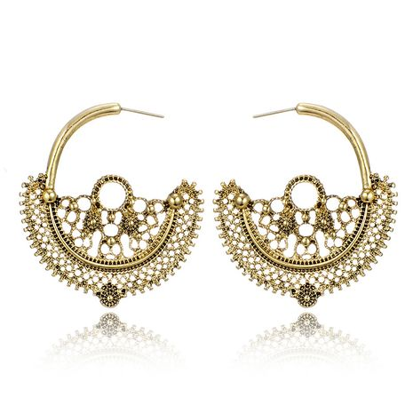 Alloy Vintage Flowers earring  (Alloy) NHGY2833-Alloy's discount tags