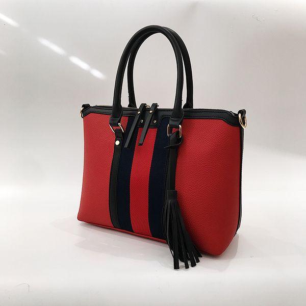 PU Korea  handbag  (red) NHTC2337-red