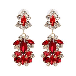 Alloy Fashion Geometric earring  (red) NHJJ5343-red's discount tags