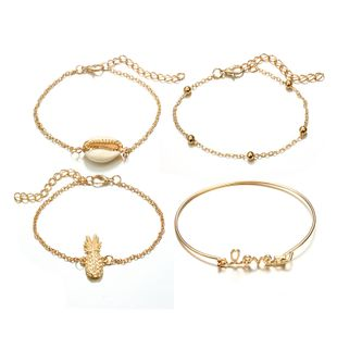 Alloy Simple Geometric bracelet  (Alloy) NHGY2755-Alloy's discount tags
