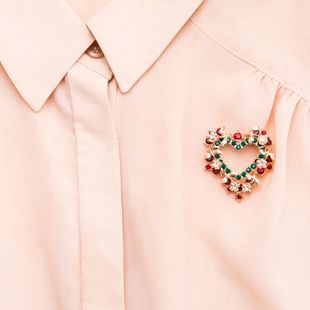 Alloy Fashion Sweetheart brooch  (Love) NHJE2202-Love's discount tags