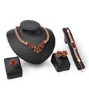 Alloy Fashion  Jewelry Set  18K alloy  61154214 NHXS217718Kalloy61154214