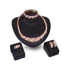 Alloy Fashion  Jewelry Set  18K alloy  61154175 NHXS217918Kalloy61154175