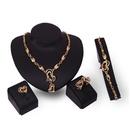 Alloy Fashion  Jewelry Set  18K alloy  61154202 NHXS219518Kalloy61154202