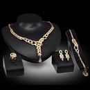 Alloy Fashion  Jewelry Set  18K alloy  61154054 NHXS219718Kalloy61154054