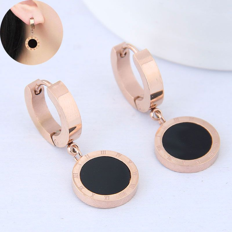 Titanium&Stainless Steel Korea earring NHNSC14245