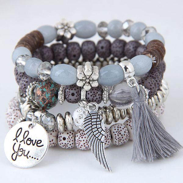 Alloy Fashion Bracelet NHNSC14286