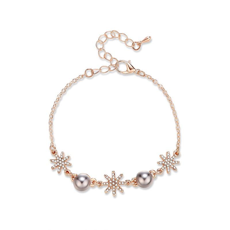 Alloy Fashion Geometric bracelet  (61186427) NHXS2227-61186427
