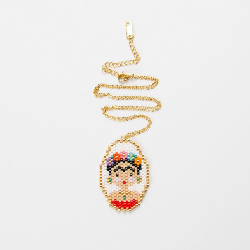 Titanium&Stainless Steel Fashion Geometric necklace  (MI-N180201A) NHGW1140-MI-N180201A