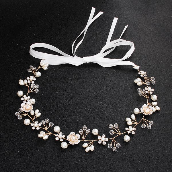 Alloy Simple Flowers Hair accessories  (Alloy) NHHS0635-Alloy
