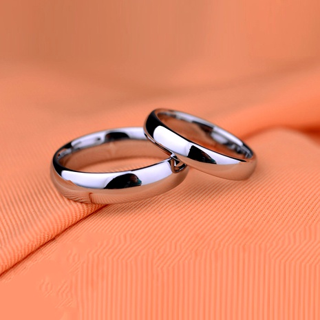 Titanium&Stainless Steel Simple  Ring  (6mm-5) NHIM1527-6mm-5's discount tags