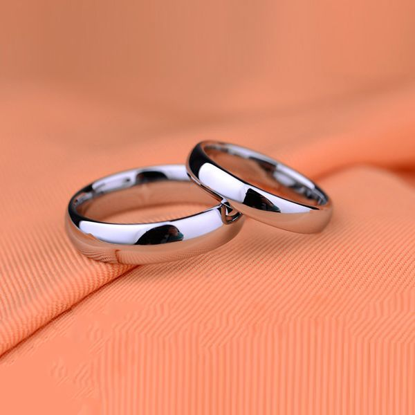Titanium&Stainless Steel Simple  Ring  (6mm-5) NHIM1527-6mm-5
