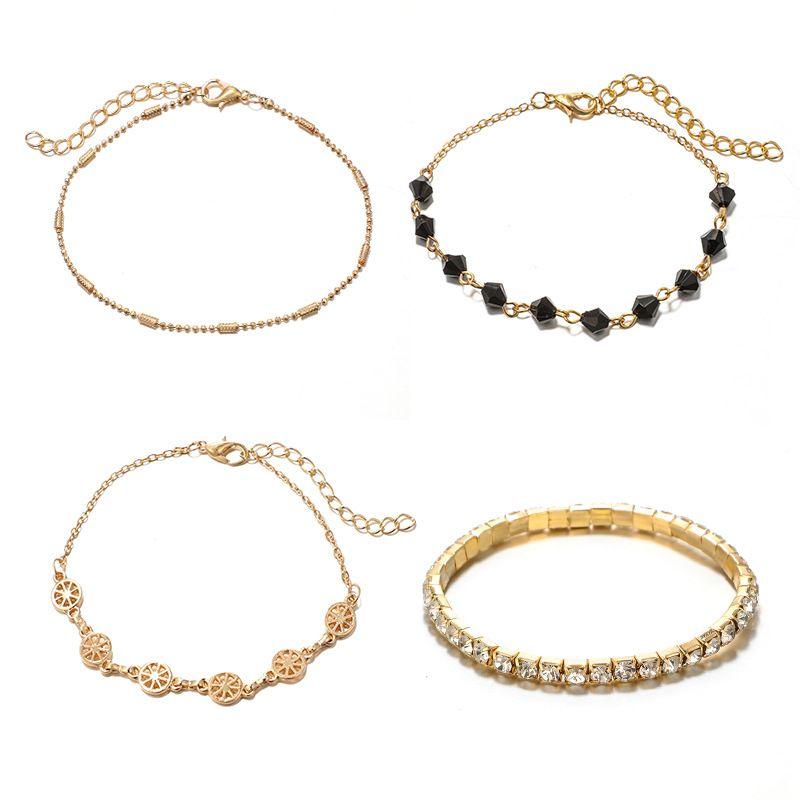 Alloy Simple Geometric bracelet  (Alloy) NHGY2868-Alloy