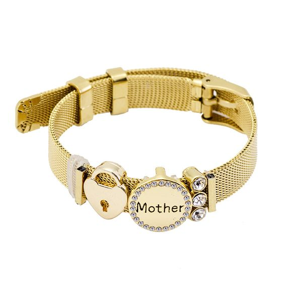 Titanium&Stainless Steel Fashion Geometric bracelet  (Alloy Mother) NHHN0385-Alloy-Mother