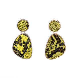 Alloy Simple Geometric earring  (yellow) NHKC1391-yellow's discount tags