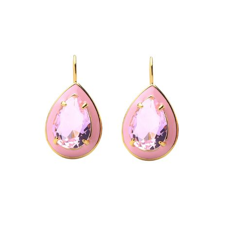 Alloy Fashion Geometric earring  (Pink-1) NHQD6042-Pink-1's discount tags