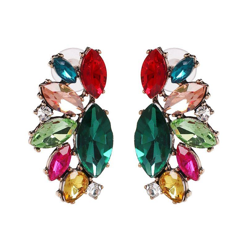 Alloy Fashion Geometric earring  (color) NHJJ5416-color