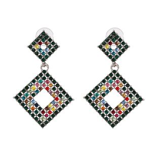 Alloy Vintage Geometric earring  (color) NHJJ5419-color's discount tags