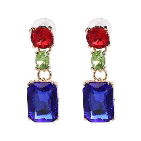 Alloy Fashion Geometric earring  (blue) NHJJ5444-blue's discount tags