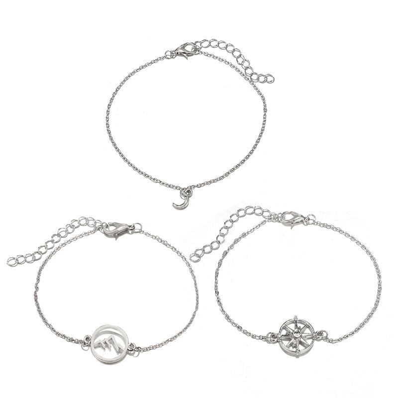 Alloy Vintage Geometric bracelet  (Alloy) NHGY2894-Alloy