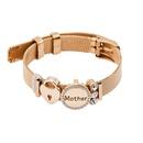 TitaniumStainless Steel Fashion Geometric bracelet  Alloy Mother NHHN0385AlloyMother