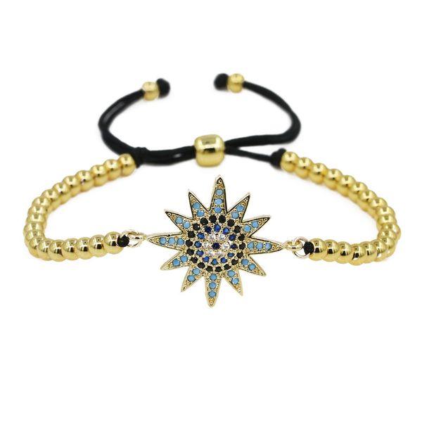 Copper Fashion Flowers bracelet  (Alloy) NHYL0561-Alloy