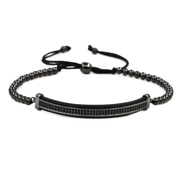 Copper Fashion bolso cesta bracelet  (black) NHYL0567-black