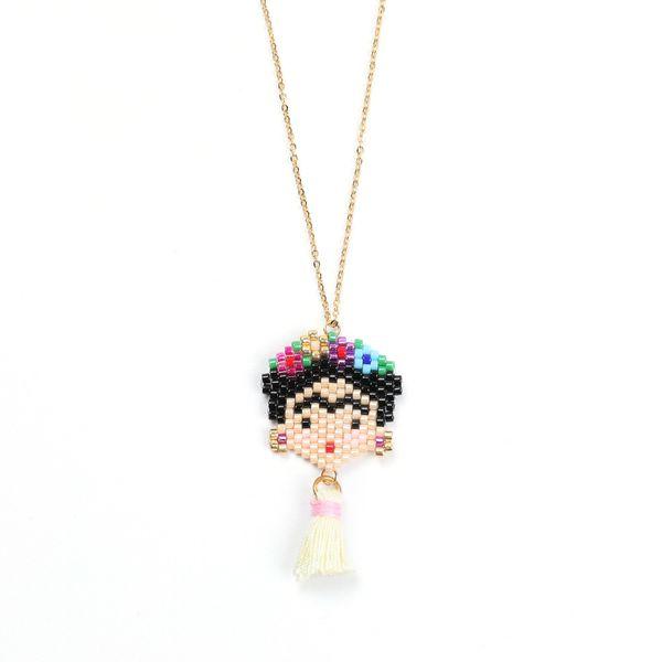 Alloy Simple Cartoon necklace  (MI-N180208A) NHGW1176-MI-N180208A