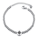 TitaniumStainless Steel Fashion Geometric bracelet  Steel color NHHF1272Steelcolor
