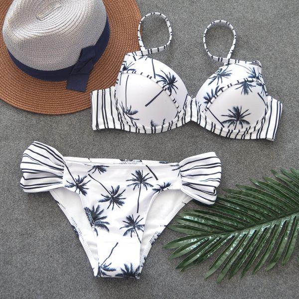 Polyester Fashion  Bikini  (Picture color-S) NHHL0624-Picture-color-S