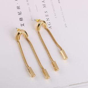 Alloy Fashion Tassel earring  (Photo Color) NHQS0097-Photo-Color's discount tags