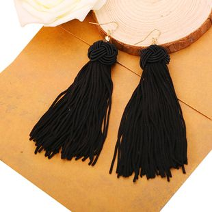 Alloy Fashion Tassel earring  (Photo Color) NHQS0181-Photo-Color's discount tags