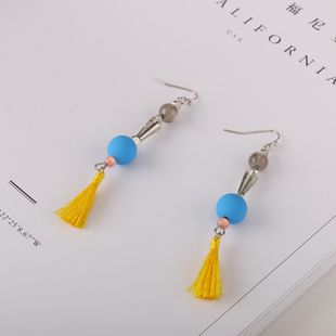 Alloy Fashion Tassel earring  (Photo Color) NHQS0195-Photo-Color's discount tags