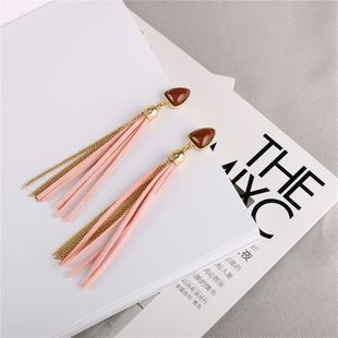 Alloy Fashion Tassel earring  (Photo Color) NHQS0214-Photo-Color's discount tags