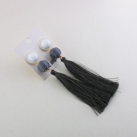 Alloy Fashion Tassel earring  (Photo Color) NHQS0223-Photo-Color's discount tags