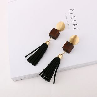 Alloy Fashion Tassel earring  (Photo Color) NHQS0233-Photo-Color's discount tags