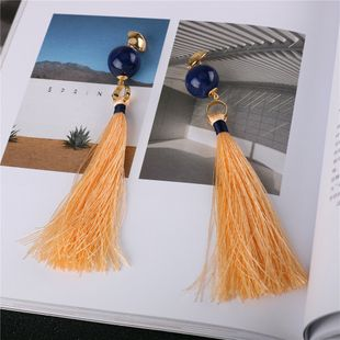 Alloy Fashion Tassel earring  (Photo Color) NHQS0268-Photo-Color's discount tags