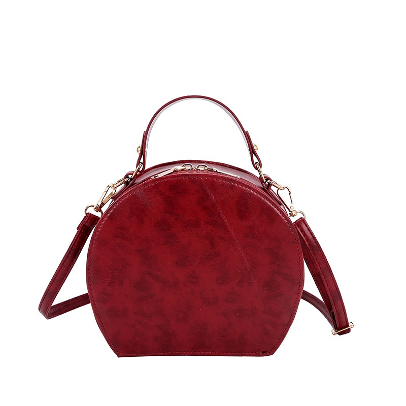 PU Fashion  handbag  (Red wine) NHXC0892-Red-wine