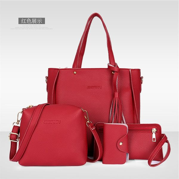 PU Korea  handbag  (red) NHXC0902-red