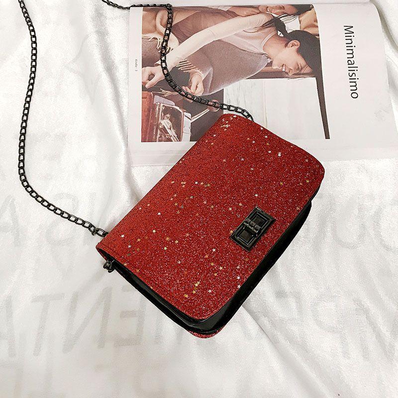PU Korea  Shoulder bag  (red) NHXC0954-red