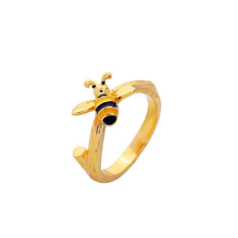 Copper Korea Animal Ring  Photo Color NHQD6087PhotoColor