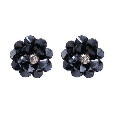 Plastic Fashion Flowers   (blue) NHJJ5475-blue's discount tags