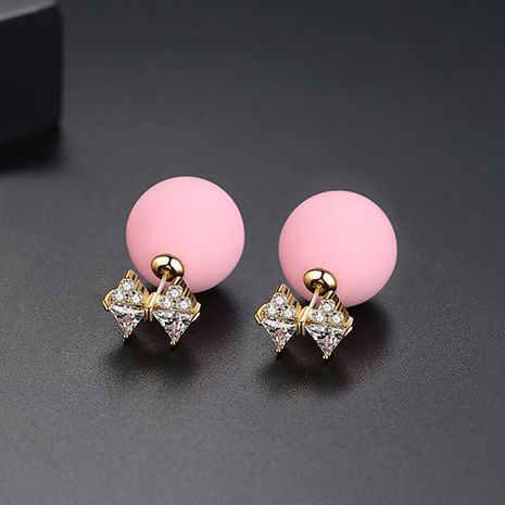 Alloy Korea Bows   (Pink-T02D23) NHTM0618-Pink-T02D23's discount tags